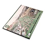 Paul Rubens Bloque de acuarela, 140 lb / 300 g Almohadilla de papel de acuarela de calidad artística Prensado en frío sin ácido, 50% trapo de algodón, tamaño 15,4 x 10,6 pulgadas, 20 hojas,8k,A3