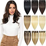 Best Clip In Hair Extensions - ROSEBUD Clip in Hair Extensions REMY Human Hair Review