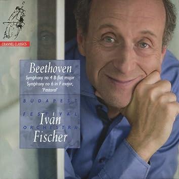 Beethoven: Symphony No. 4 In B - Flat Major & Symphony No. 6 In F Major - ''Pastoral''