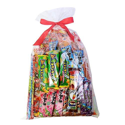 小袋スナック・駄菓子もりもりラッピングセット(計58コ) おかしのマーチ