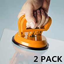"""IMT 4.9"""" Glass Suction Cup Tiles Window Lifter 2 Pack, Car Dent Puller, Power Grip.."""