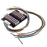 Mogzank Equilibrador de Grupo Completo 13S-17S 5A Litio Activo Lipo Lifepo4 Ecualizador de BateríA Condensador de Transferencia de EnergíA Tablero BMS
