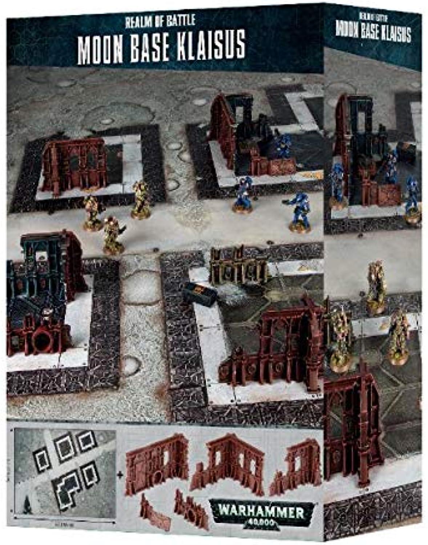 Games Workshop Warhammer 40k Realm of Battle  Moon Base Klaisus