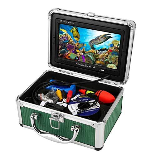 DAUERHAFT Cámara subacuática TFT Monitor a Color Cámara de Video de Pesca para(British regulations (110-240V))