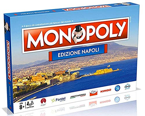 Winning Moves- Monopoly Napoliu, Multicolore