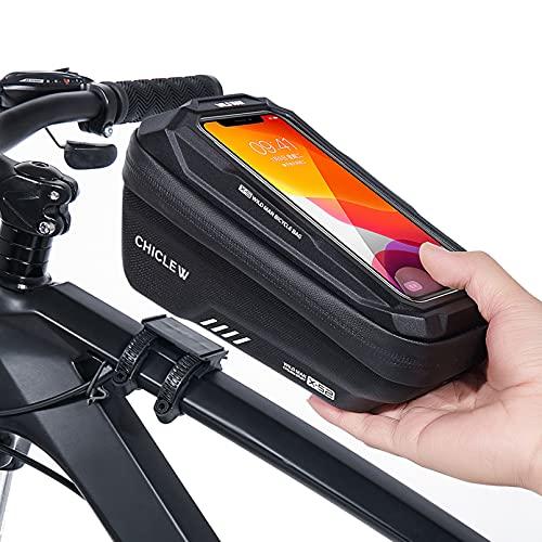 CHICLEW Bolsa Bicicleta, Accesorios Bicicleta Impermeable Soporte Móvil Bicicleta...