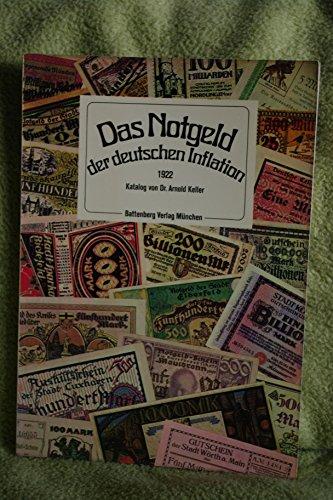 Das Notgeld der deutschen Inflation 1922. Katalog.