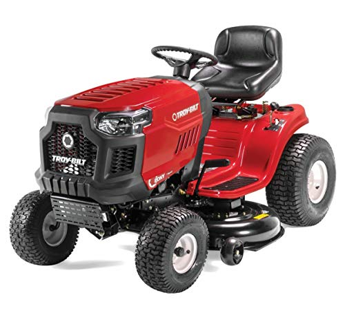 Troy-Bilt Pony 42 inches Riding Lawn Mower Tractor with 42-Inch Deck and 500cc 17.5HP Briggs and Stratton Engine (Renewed)