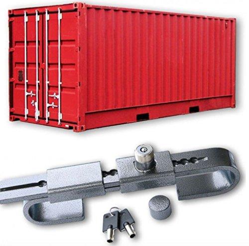 Wielen N Bits Beveiliging Gehard Staal Container Koelkast Trailer Deur Lock Hangslot Opslag