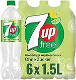 7UP Free, Zuckerfreie Limonade mit Zitronen- und Limettengeschmack (6 x 1.5 l)