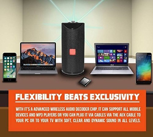 Shopnet Bluetooth Speaker for Xiaomi Mi Max 3 Ultra Boost Bass with DJ Sound Portable Home Speaker with Audio Line in TV Supported,USB,FM,TF Card and AUX Cable Supported Waterproof