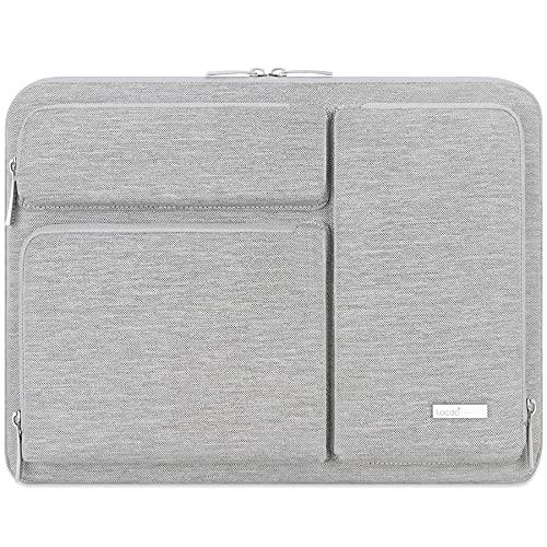Lacdo 11 Pulgadas Funda para Portátiles Protectora de 360° para 11.6' Acer ASUS HP Samsung DELL Chromebook, 12.3' Surface Pro 7, 11' Lenovo IdeaPad 3 Chromebook, 11.6' MacBook Air Bolsa Blanda, Gris