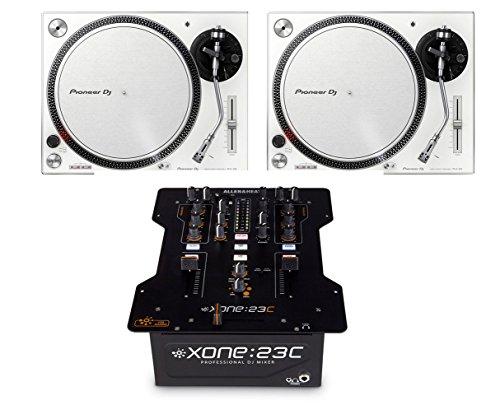 Why Should You Buy 2x Pioneer PLX-500 (White) + Allen & Heath Xone:23C