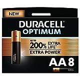 Duracell - Nuevo Pilas alcalinas Optimum, 16 Pilas AA + 16 Pilas AAA, 1.5 Voltios LR6 LR03 MX1500 MX2400