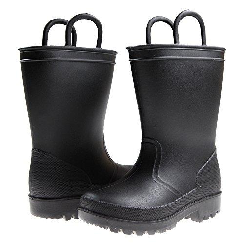 Capelli New York Matte Solid Opaque Toddler Boys Rain Boot...