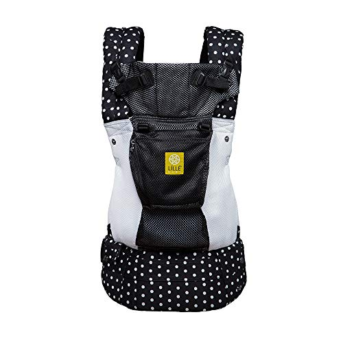 LÍLLÉbaby Complete Airflow 6-in-1 Ergonomic Baby & Child Carrier, Spot On - Breathable Mesh
