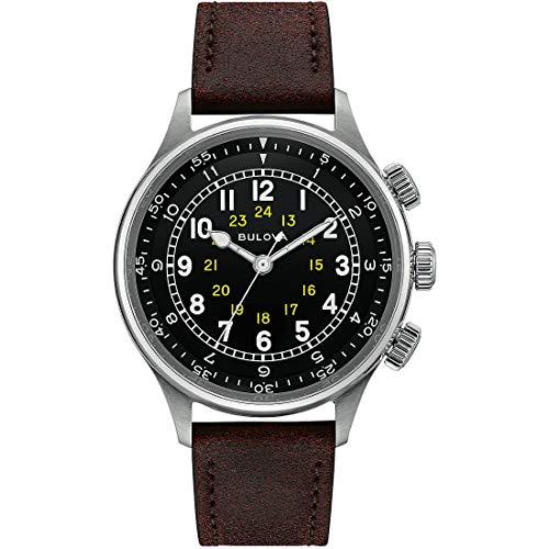 orologio solo tempo uomo Bulova Military Vintage casual cod. 96A245