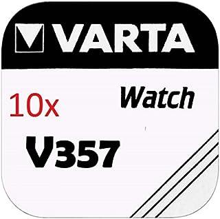 Varta Knopfzellen   V357 Lot de 10