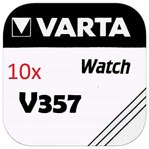 Varta Knopfzellen - V357 Lot de 10