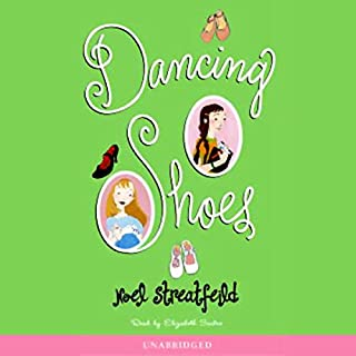 Dancing Shoes audiobook cover art