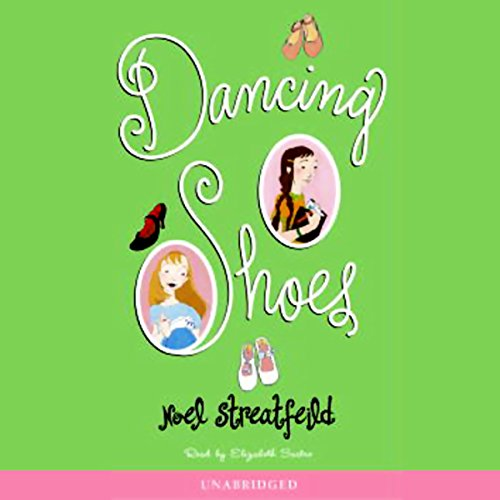 Dancing Shoes audiobook cover art
