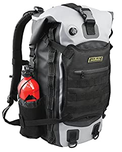 Nelson-Rigg SE-3040 40 Liter Gear Hurricane 40L Waterproof Backpack/Tail Pack, Black