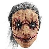 Hautton Máscara de Halloween para Adulto, Máscara Espeluznante Látex, Mascarilla Cubrecabezas...