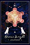 Divine Insight Journal: Soul Spirit Ba Bird - Platonic Solid Metronomes Cube Lined Notebook Journal - Egyptian Kemetic - 120 Pages - Large (6 x 9 inches)