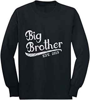 Gift for Big Brother 2019 Siblings Gift Toddler/Kids Long Sleeve T-Shirt