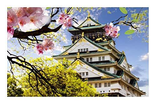 Puzzle-a Japón Templo de Sensoji paisaje rompecabezas 500-3000 Puzzles for adultos - juguetes educativos en el hogar regalo personalizado (500/1000/1500/2000/3000 Piezas) Puzzle-a