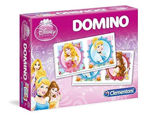 Clementoni - 13407 - Jeu Éducatif et Scientifique - Domino Games - Princesses