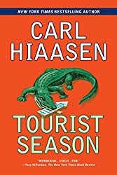 book cover of Tourist Season - books set in Miami