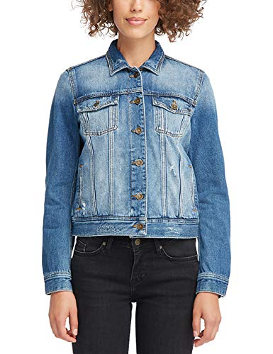 MUSTANG Damen Relaxed Fit Denim-Jacke Jeans