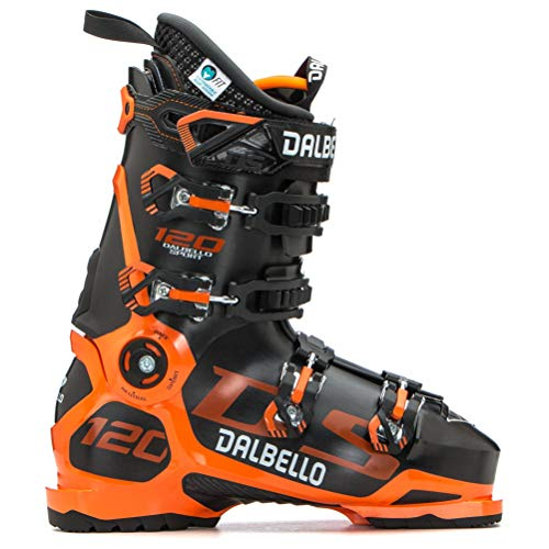 Dalbello DS 120 MS Black/Orange, Scarponi da Sci Uomo, Nero, 26,5