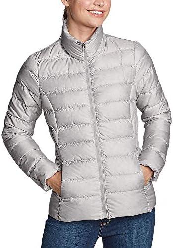 Eddie Bauer Women s CirrusLite Down Jacket Lt Gray Regular XS product image