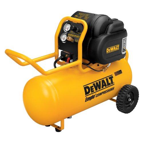 DEWALT D55167 1.6 HP 225 PSI Oil Free High Pressure Low...