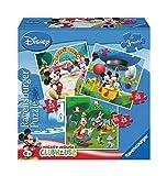 Ravensburger - Puzzle Mickey Mouse Clubhouse - 3 Puzzles dans Une boîte