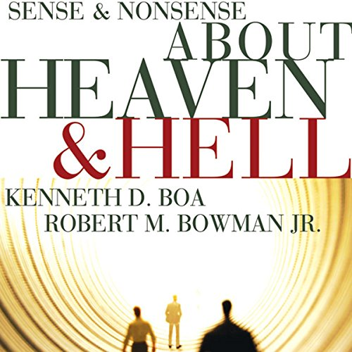 Sense and Nonsense about Heaven and Hell audiobook cover art