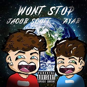 Won't STOP (feat. Ayab)