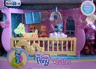 -  My Little Pony Newborn Cuties Little Rainbow Dash's Room w BONUS Cheerilee & More (2008 Exclusive)