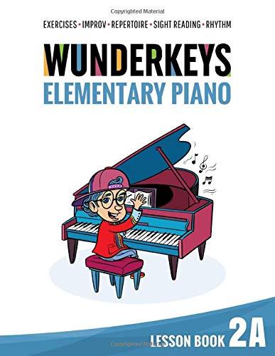 WunderKeys Elementary Piano Lesson Book 2A