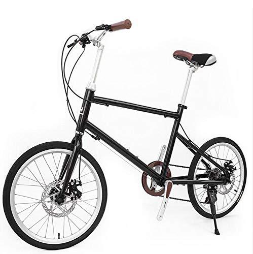 EEKUY Retro City Bike fiets, 7-versnellingen, aluminiumlegering, lichtgewicht fiets, reizen, fiets, 54,9 inch