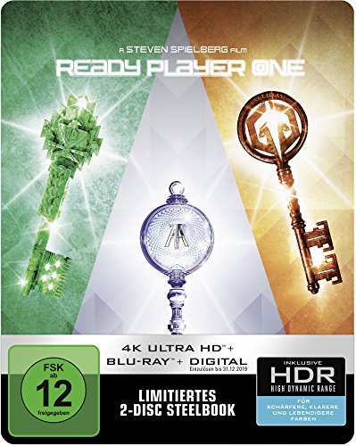 Ready Player One 4K Ultra HD Steelbook [Blu-ray] [Limited Edition]