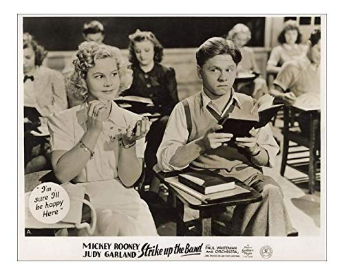 Media Storehouse 10x8 Print of Film - Strike up the Band - Mickey Rooney and Judy Garland (14408648)