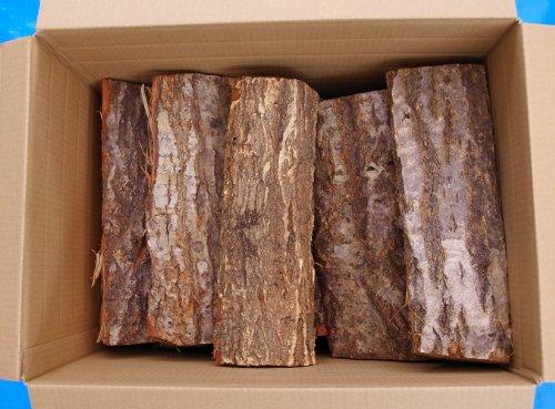 ナラ薪100%【岩手県産】 安全高品質な天然乾燥薪 長さ30cm ダンボール箱入り1箱20kg
