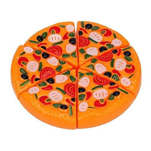 Cocina Juguetes de simulación Niños Bebé Cortar pizza Juguete Educación temprana Cocina Cocina Comida rápida Fiesta