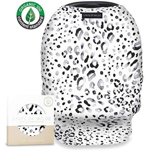 Organic Cotton Nursing Cover for Breastfeeding, Baby Shower Gift,...