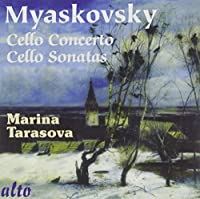 Myaskovsky: Cello Sonatas No. 1 & 2, Cello Concerto Op. 66 by Marina Tarasova (2010-05-18)