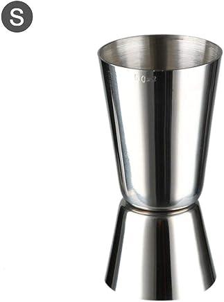 Cóctel Jigger Cocina multifunción de Acero Inoxidable Dual Spirit Tazas de medición para Bar Home Bartender