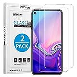 OMOTON Protector Pantalla Samsung Galaxy A8S, Cristal Templado Samsung Galaxy A8S, Borde 2.5D, Sin Burbujas, Anti-arañazos, 2 Pack